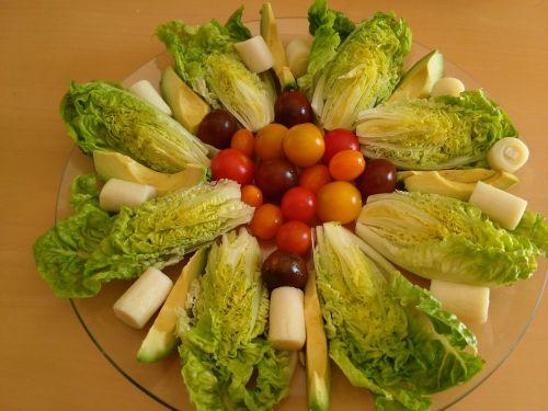healthy salad vegetarian