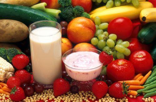healthy food fruit vegetables