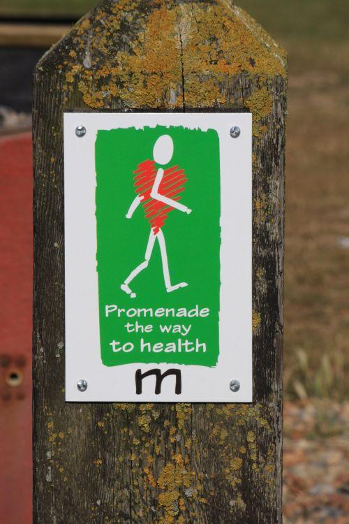 Healthy Walking Signpost