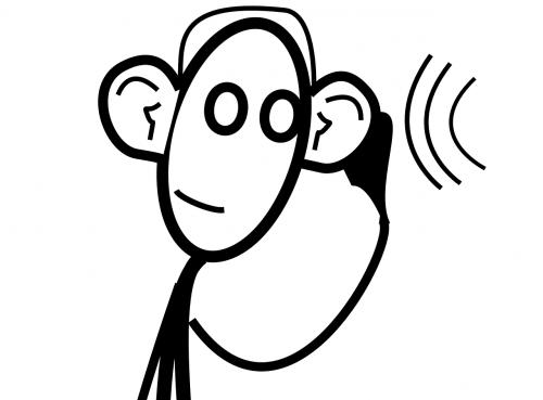 hearing listening ear