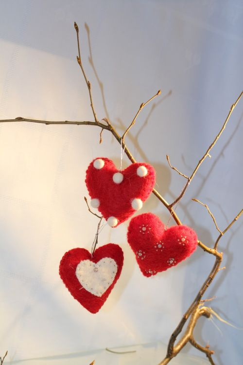 heart red branch