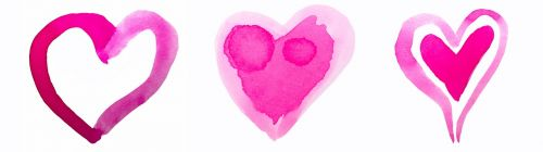 heart watercolor watercolour