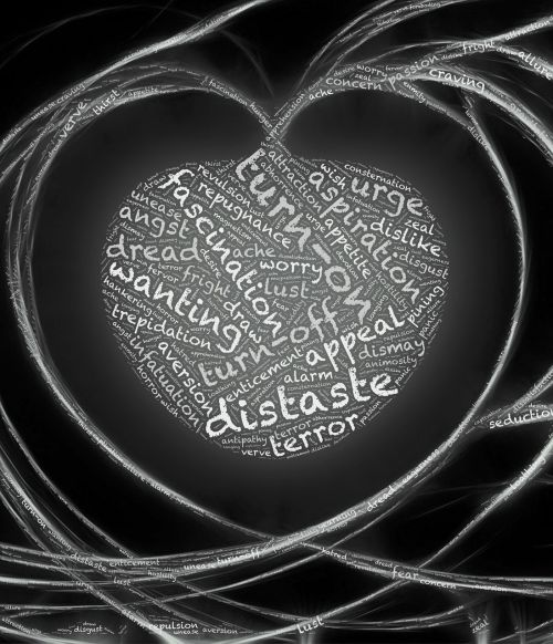 širdis,jausmai,emocijos,tikisi,baimė,troškimas,priešiškumas,troškimas,nepasitenkinimas,įjungti,Išjunk,aspiracija,primygtinai,baimės,nori,teroras,siaubas,apeliacija,baimė,pritraukimas,atbaidymas,pasipiktinimas,nerimauti,rūpestis,noras,nerimauti,sumišimas,geismas,baimė,sąmyšis,troškulys,atkreipti,ilgesys,ilgesys,viliojimas,juoda ir balta