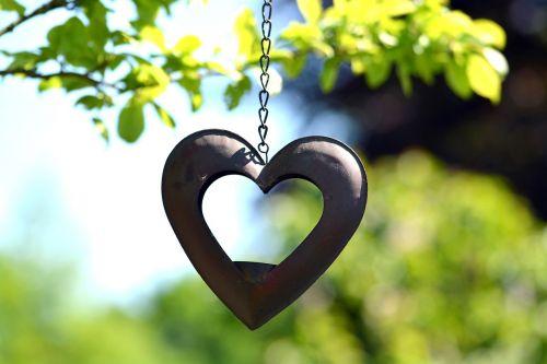 heart deco gartendeko