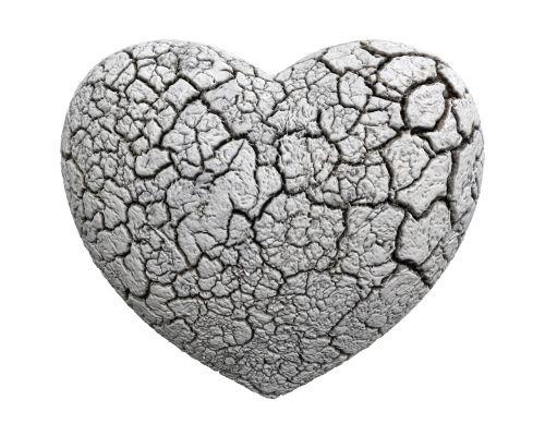 heart 3d stone