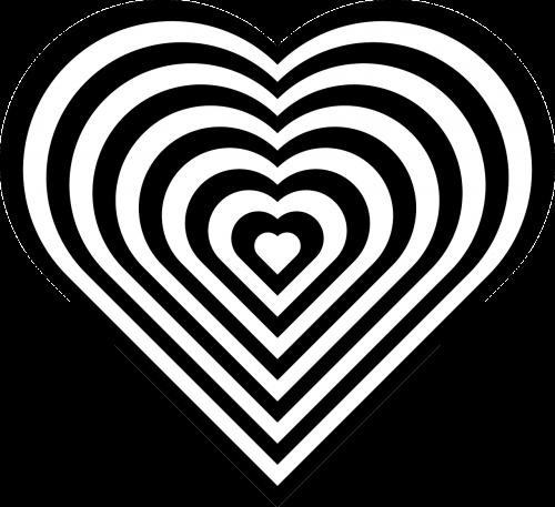 heart nested geometry