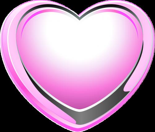 heart pink love