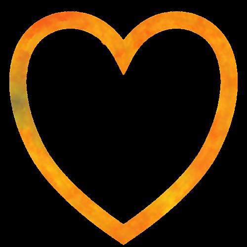 heart cartoon painted