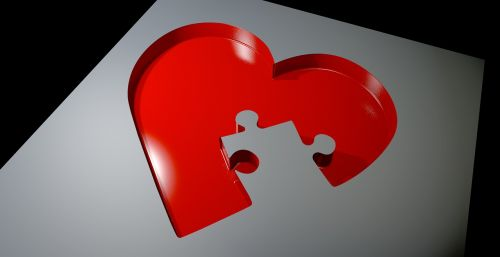 heart love puzzle