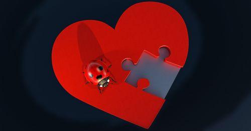heart puzzle love