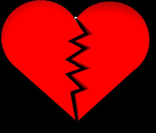 heart broken heart love