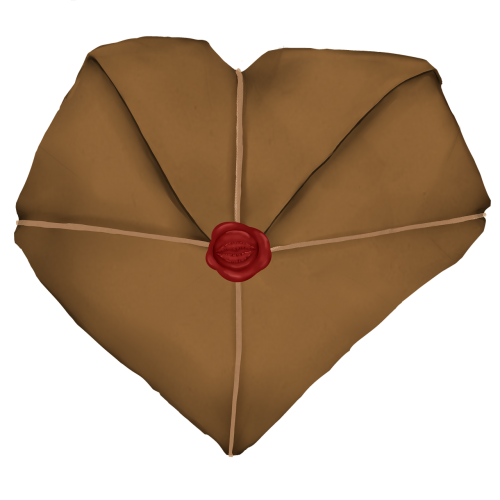 heart parcel package
