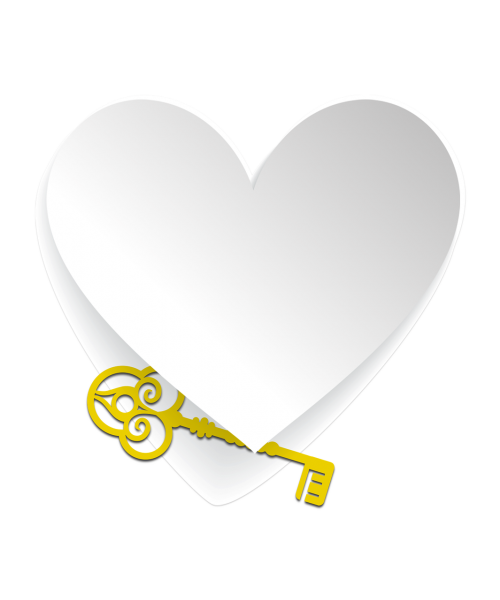 heart key love