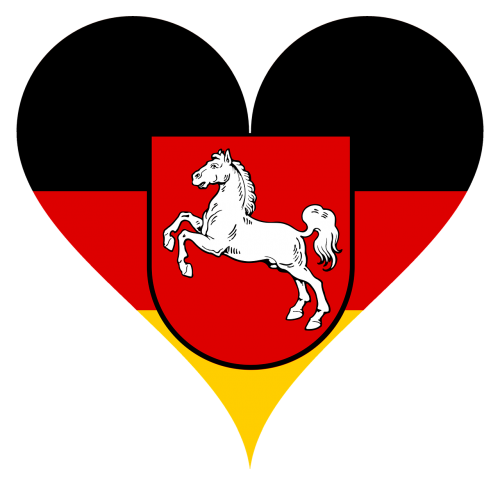 heart love lower saxony