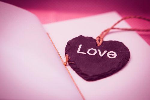 heart shape bookmark