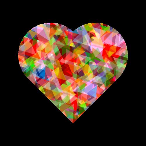 heart love color