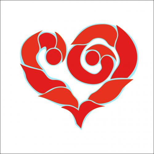 heart vector figure