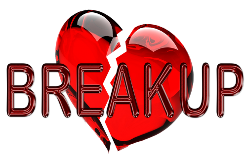 heart crack sad