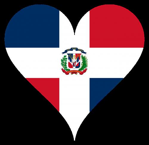 heart love dominican republic
