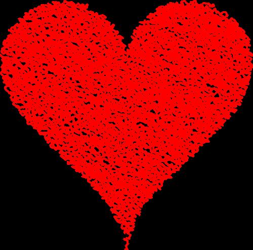 heart love scribble
