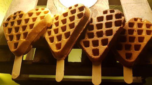 heart waffles waffle
