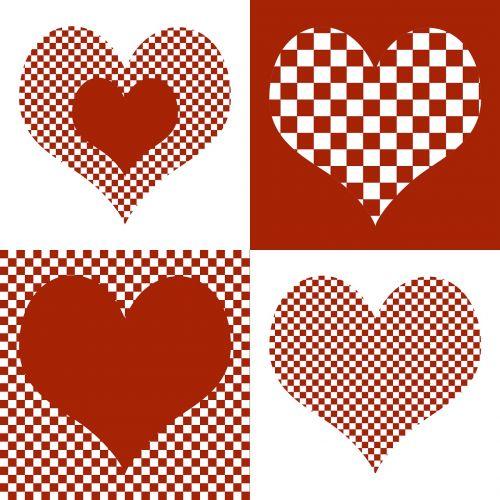 heart heart pattern valentine's day