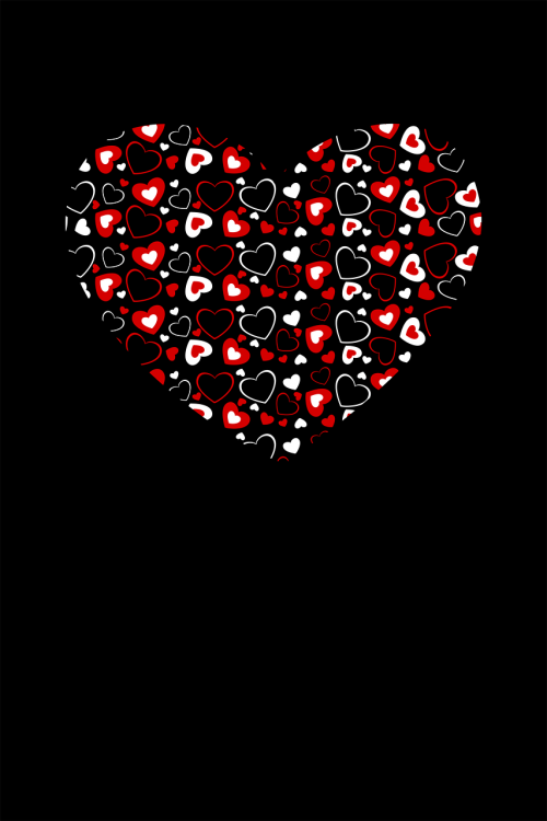 heart form red