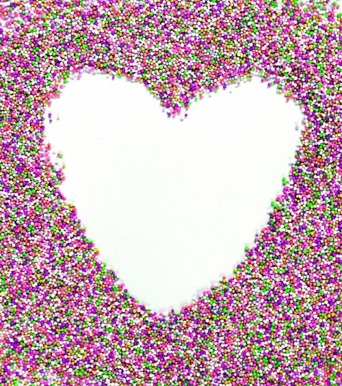 heart the text of the blank