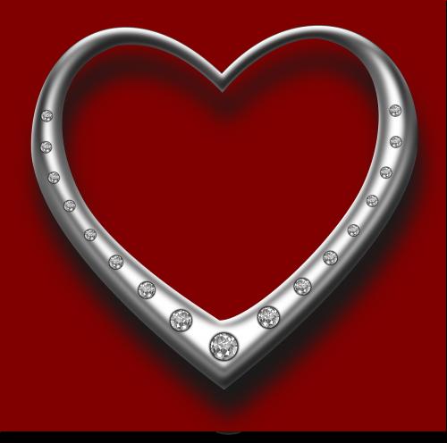heart diamonds love
