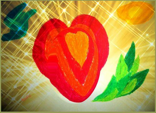 širdis,meilė,romantika,sėkmė