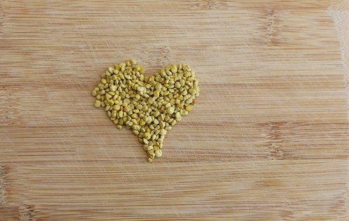heart  pollen  valentine's day