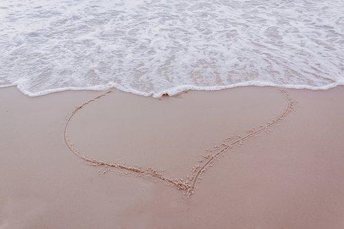 heart  love  ocean
