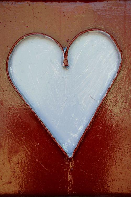 heart white symbol