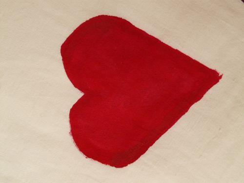 heart herzchen red