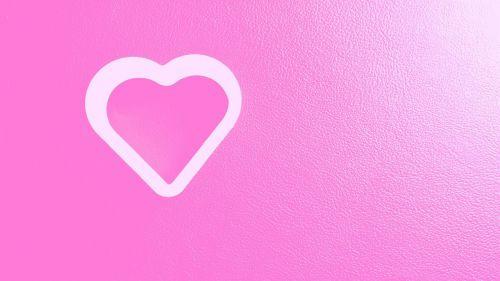 heart pink valentines day