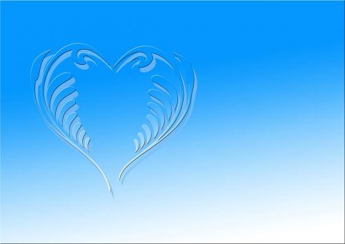 heart love greeting card