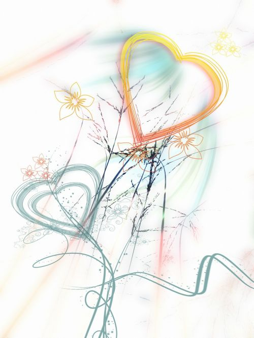 heart love kringel