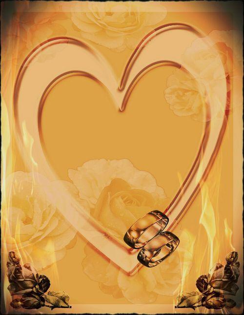 heart flaming love