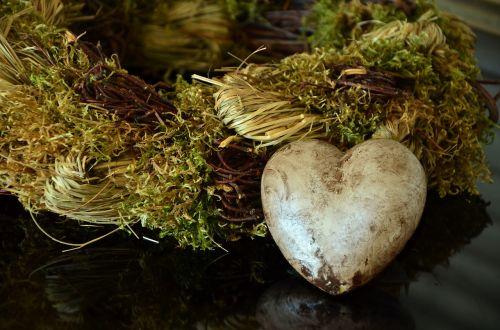 heart wreath decoration