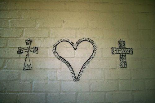 Heart And Crosses