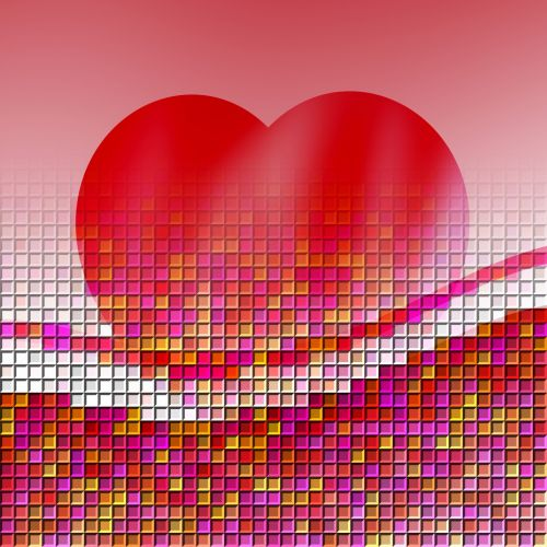 Heart And Tiles