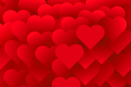 heart background  romantic background  love background