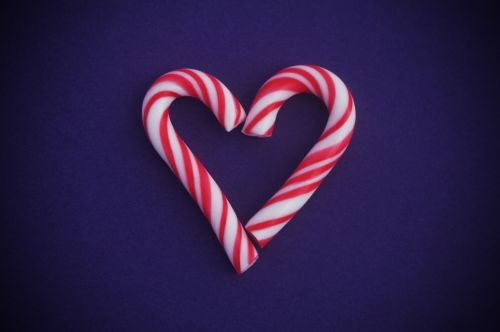 Heart Candy Canes