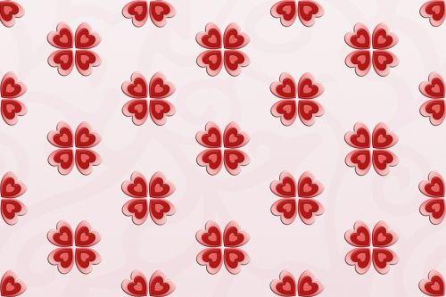 Heart Flower Background