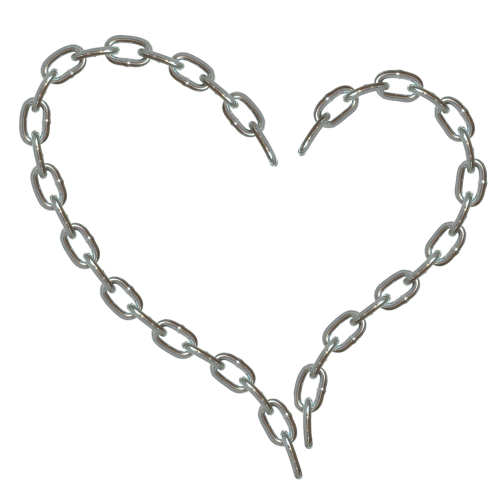 heart scrapbooking framework embellishment