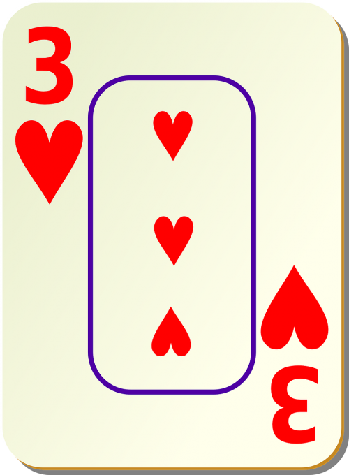 hearts 3 three