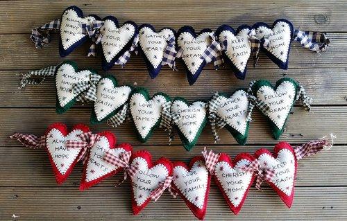 hearts  sayings  craft