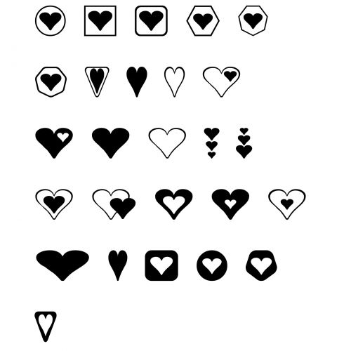 Hearts Shapes