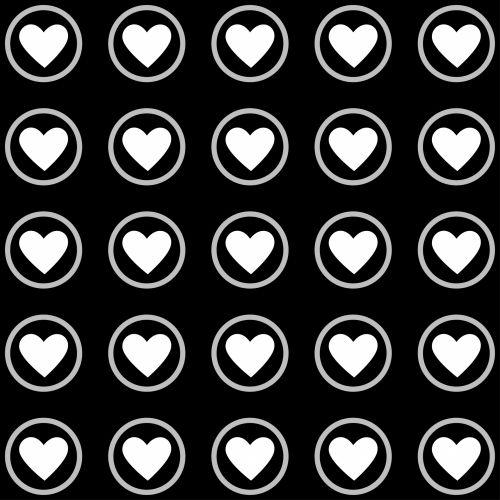 hearts wallpaper background pattern