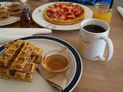 Hearty Waffles Meal